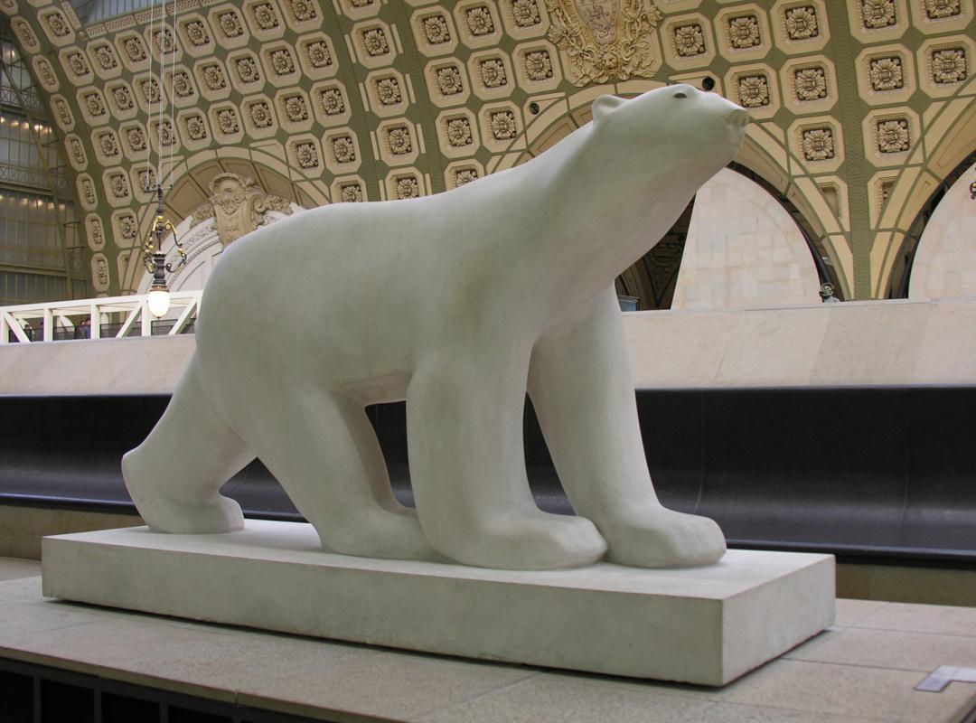 Francois Pompom. Polar bear