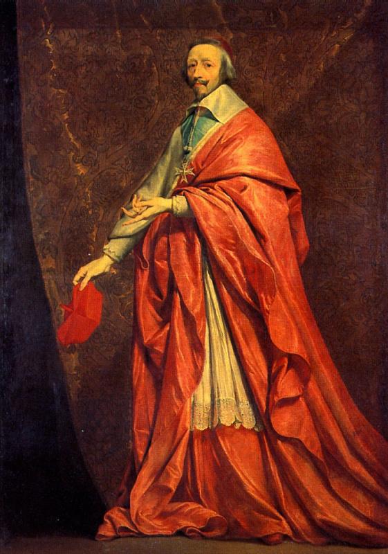 Philippe de Champigny. Cardinal Richelieu