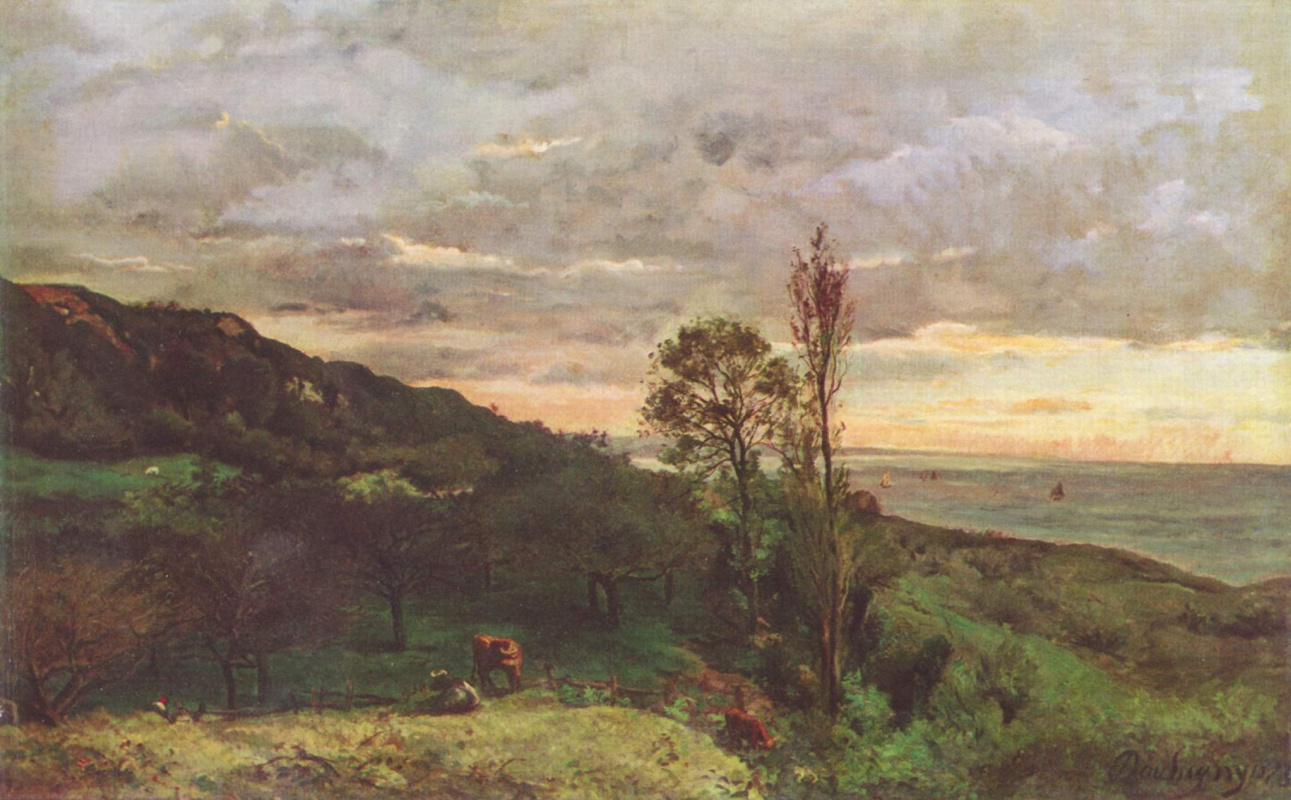 Charles-Francois Daubigny. Neighborhood Villerville