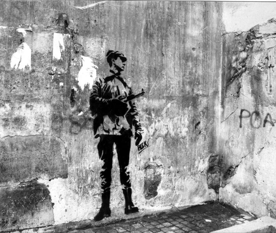 Black Le Rat. Russian soldier