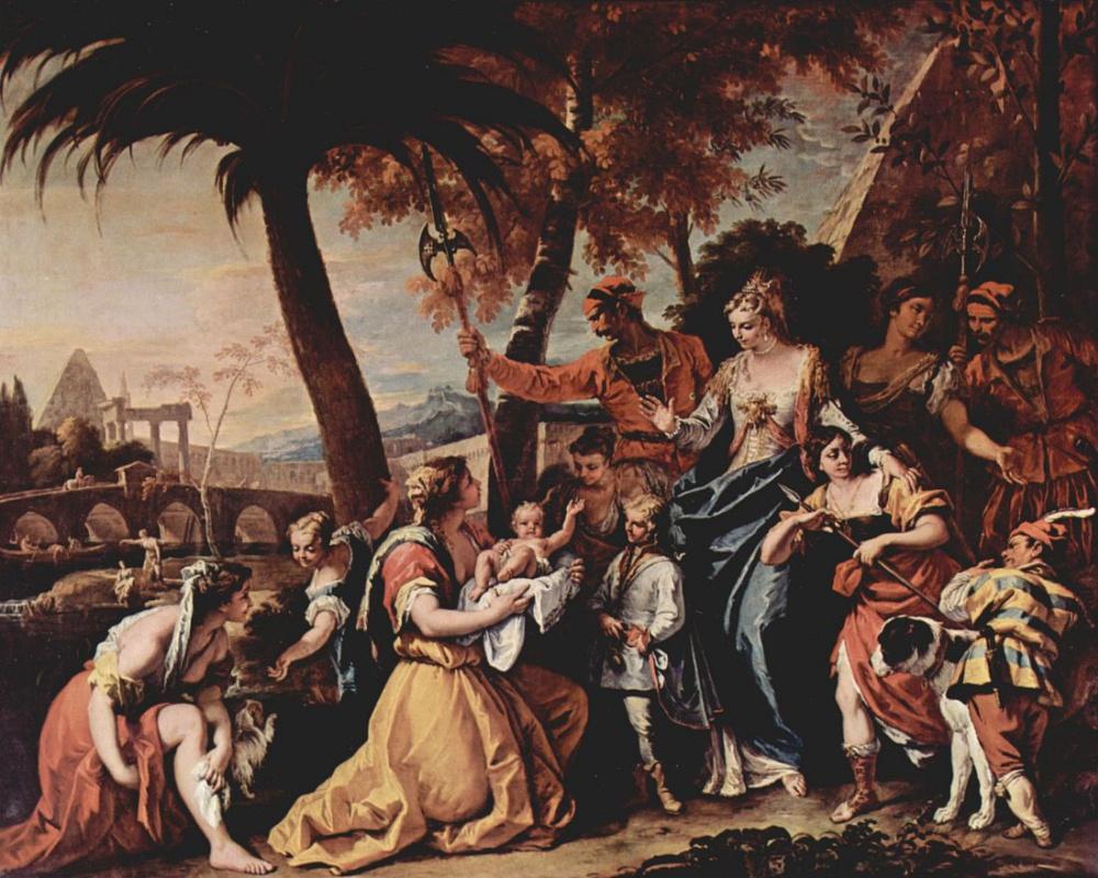 Себастьяно Риччи. Спасение маленького Моисея