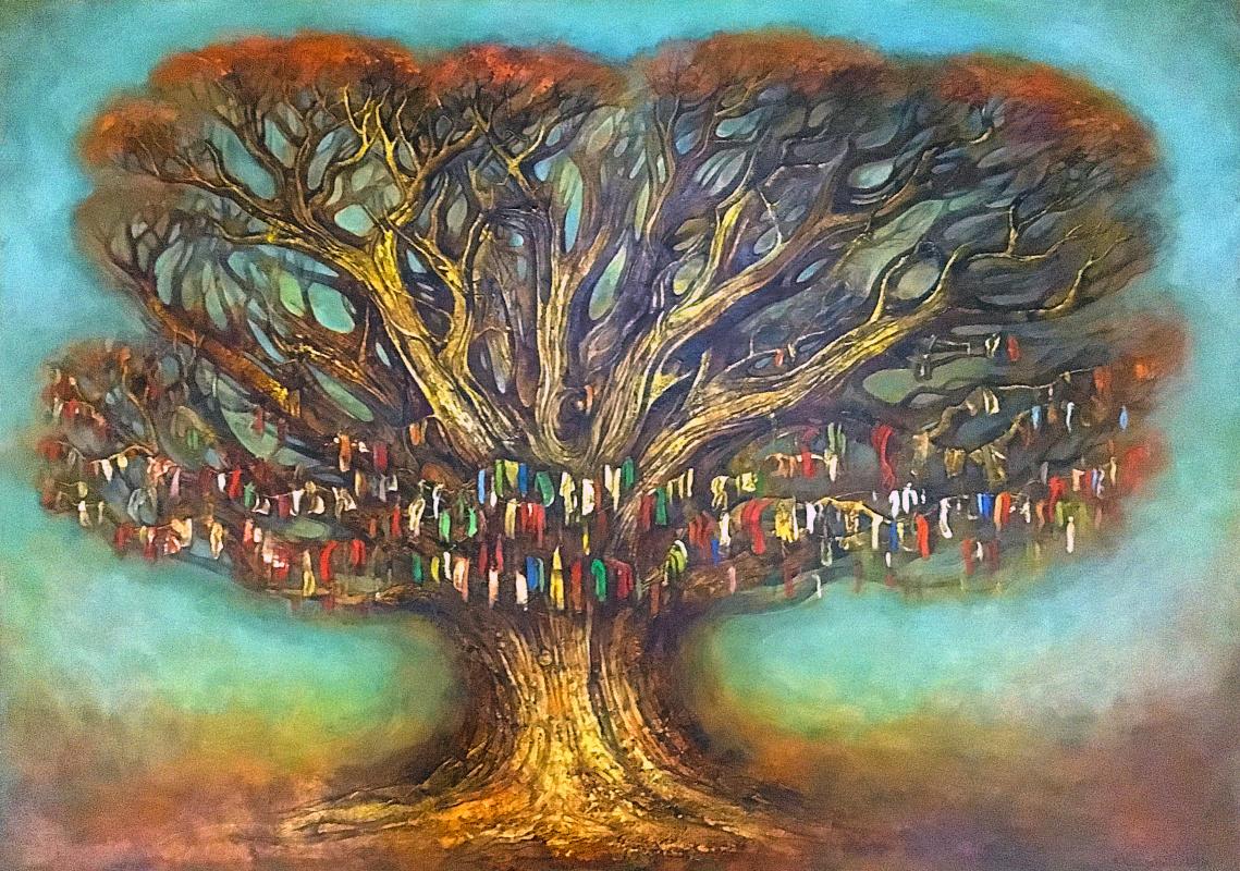 Amur Kochishvili. Wish tree