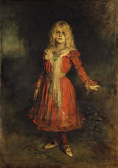 Франц фон Ленбаха. Дочь художника