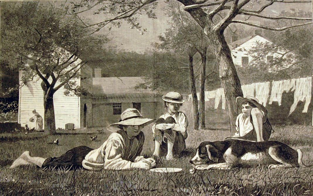 Winslow Homer. Noon
