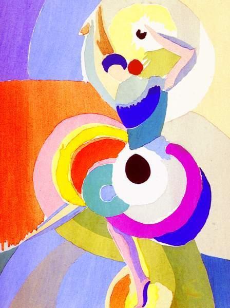 Sonia Delaunay. Flamenco dancer