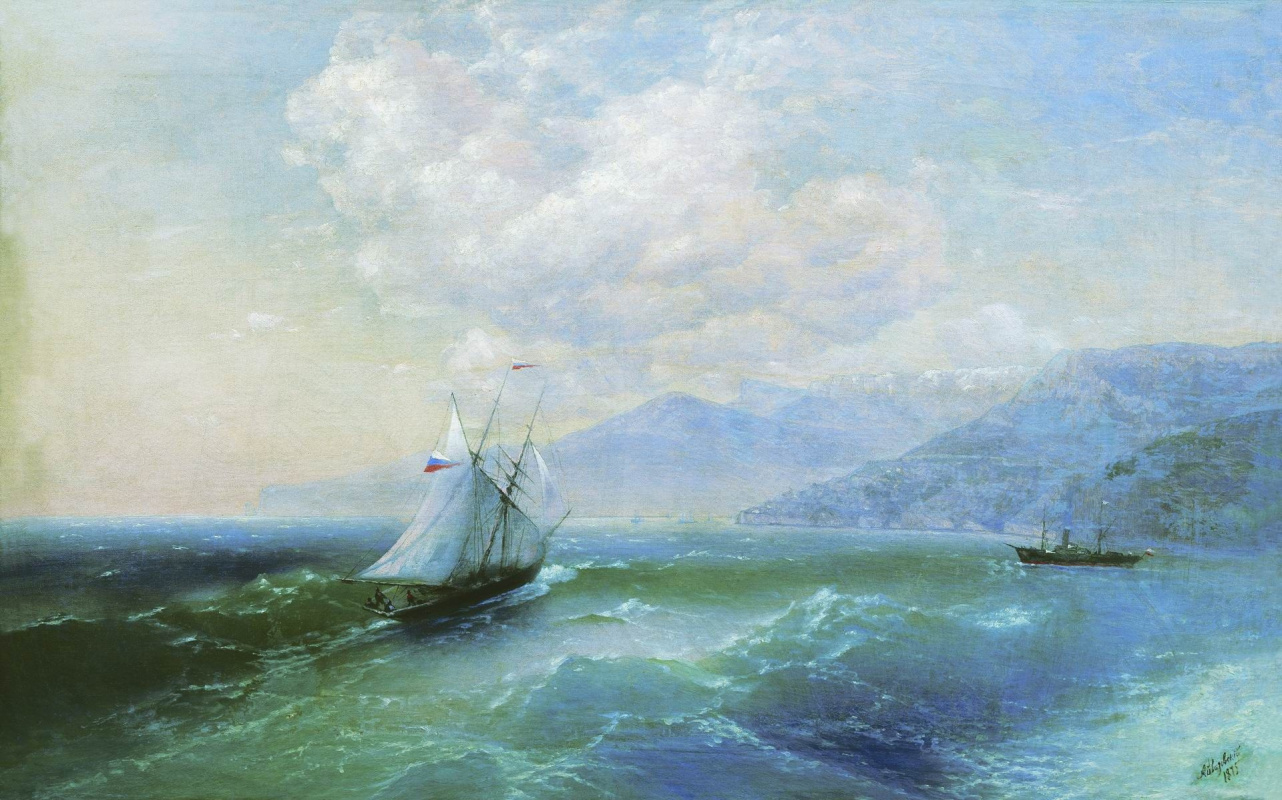 Ivan Aivazovsky. Off the coast