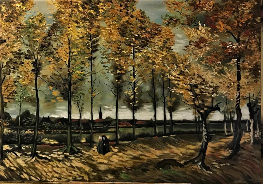 Inga Kotlyarskaya. Free copy of the work of Vincent Van Gogh