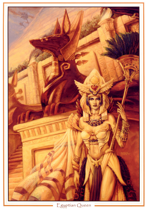 Томас Бакса. Египетская королева