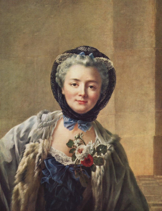 Франсуа Юбер Друэ. Портрет Анны Марии Франсуазы Доре