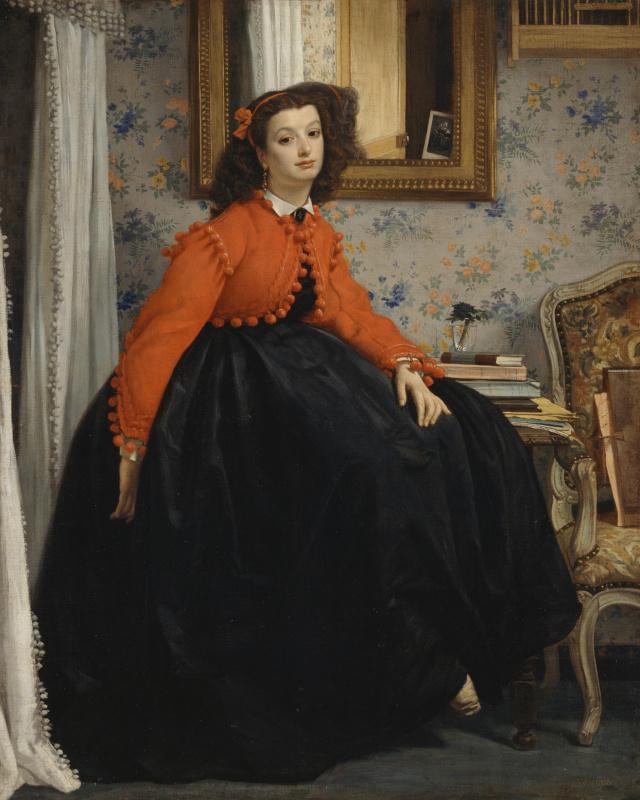Portrait de Mademoiselle L.L.