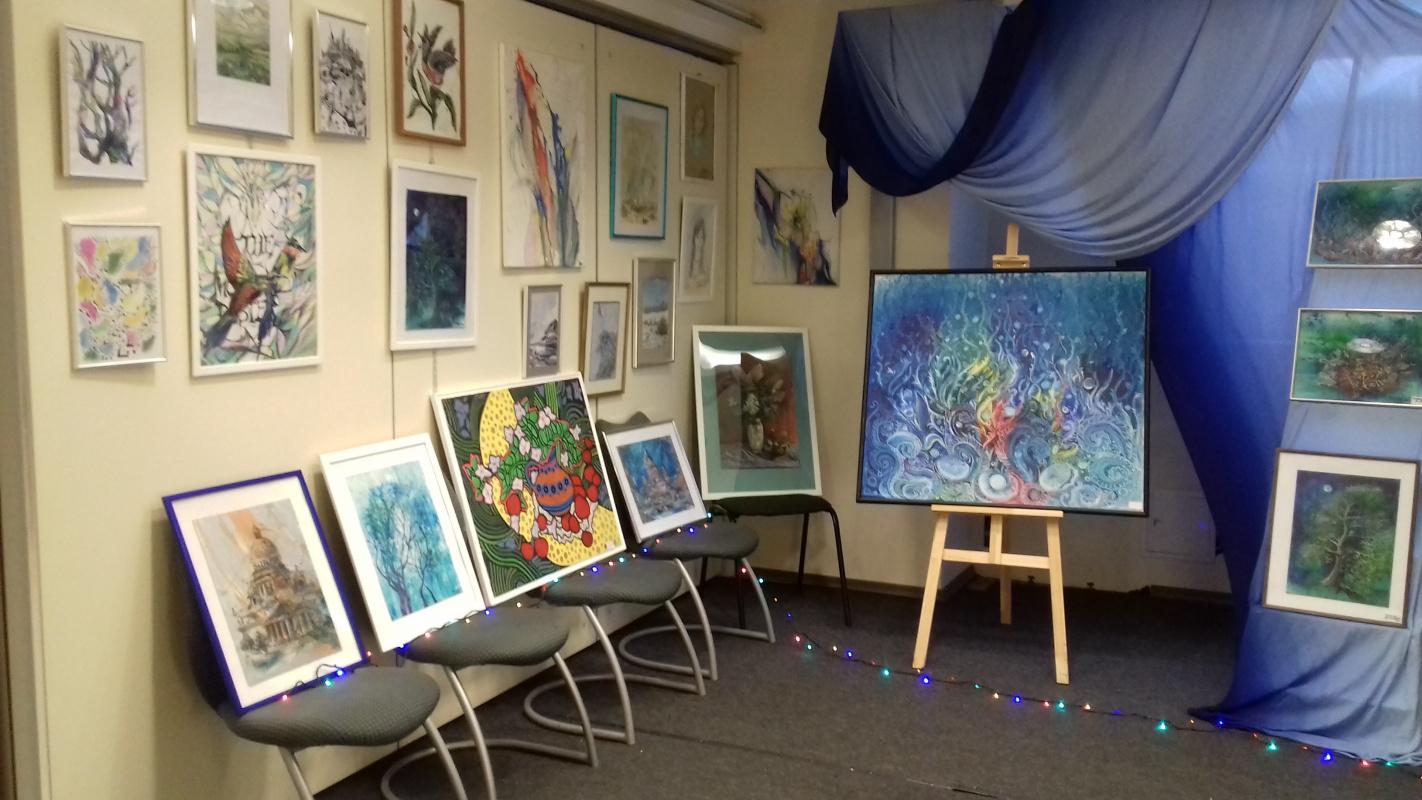 Natalia Alekseevna Tsyganova. Blue Exhibition 2016