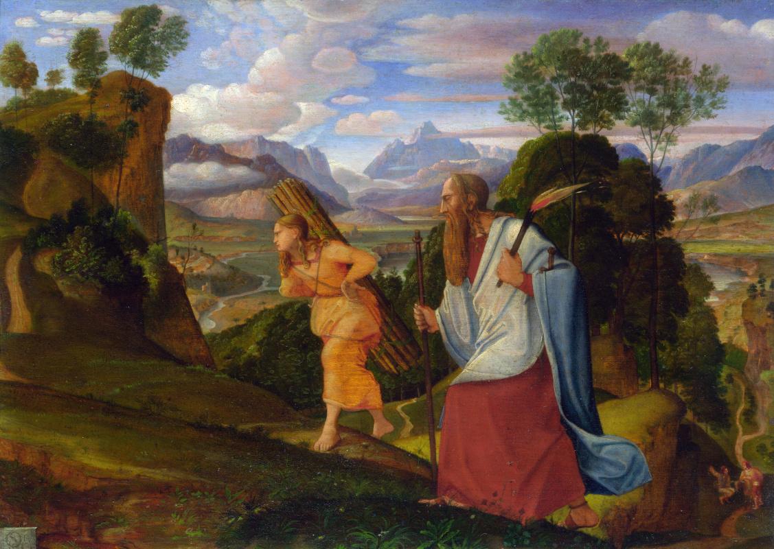 Иоганн Генрих Фердинанд Оливье. Авраам и Исаак