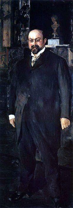 Valentin Aleksandrovich Serov. Portrait Of N. A. Morozov