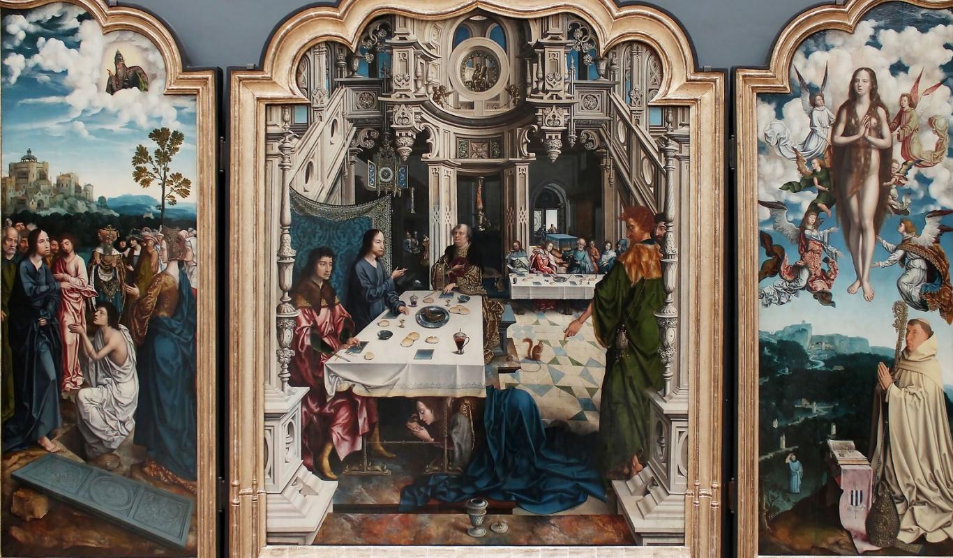 Ян ван Дорнике. Триптих Дилегемского монастыря