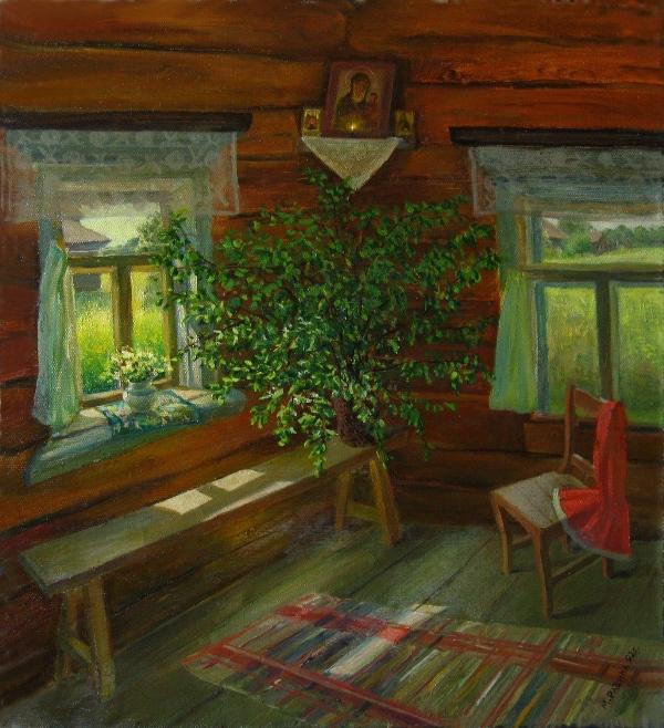 Marina Dmitrievna Razin. Interior. Trinity
