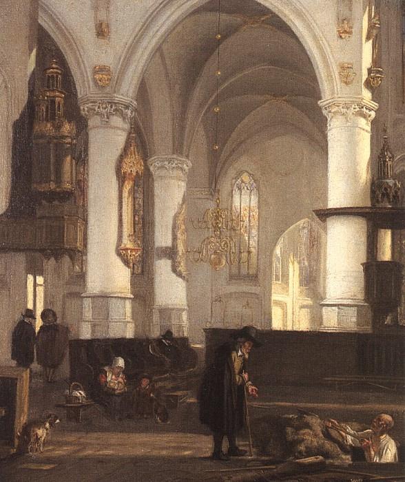 Emmanuel de Witte. Work