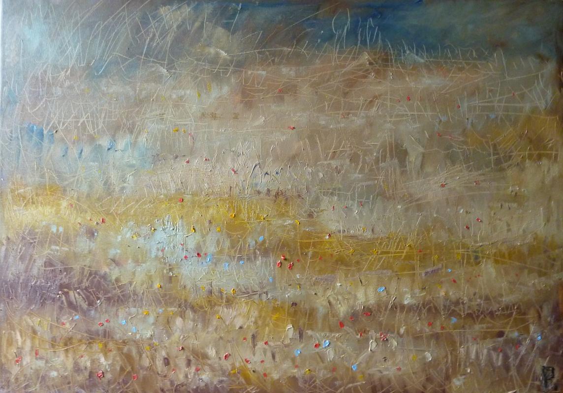 Svyatoslav Svyatoslav Ryabkin Ryabkin. Sun-scorched meadow  Опаленный солнцем луг