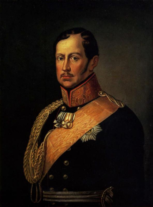 Неизвестный  художник. Фридрих Вильгельм III, король Пруссии
