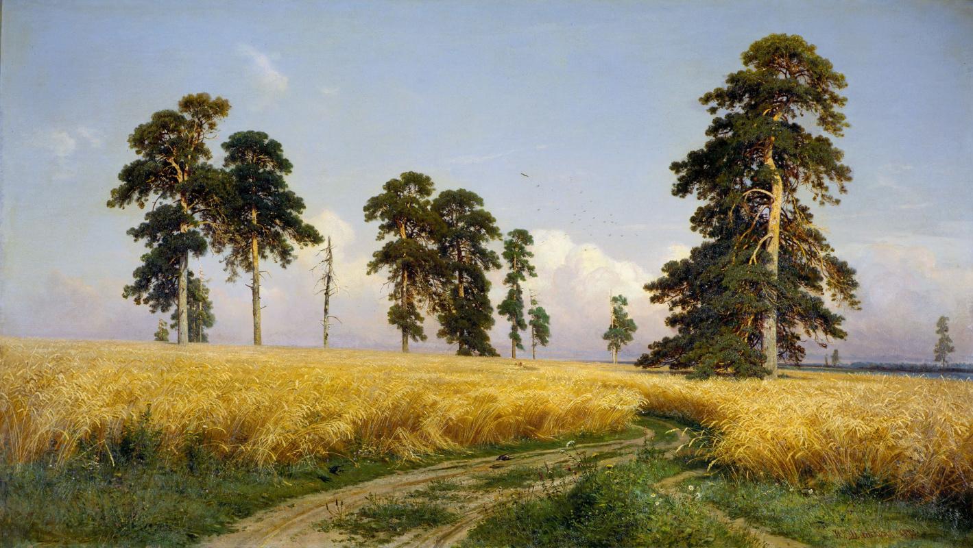 Ivan Shishkin. Rye