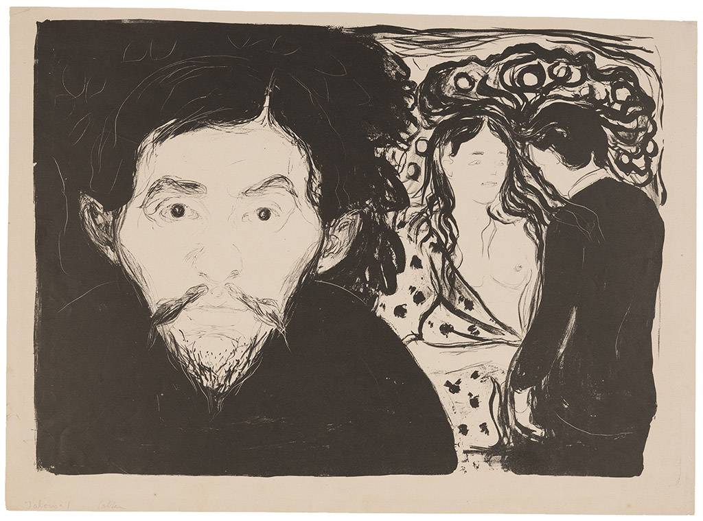 Edward Munch. Jealousy I