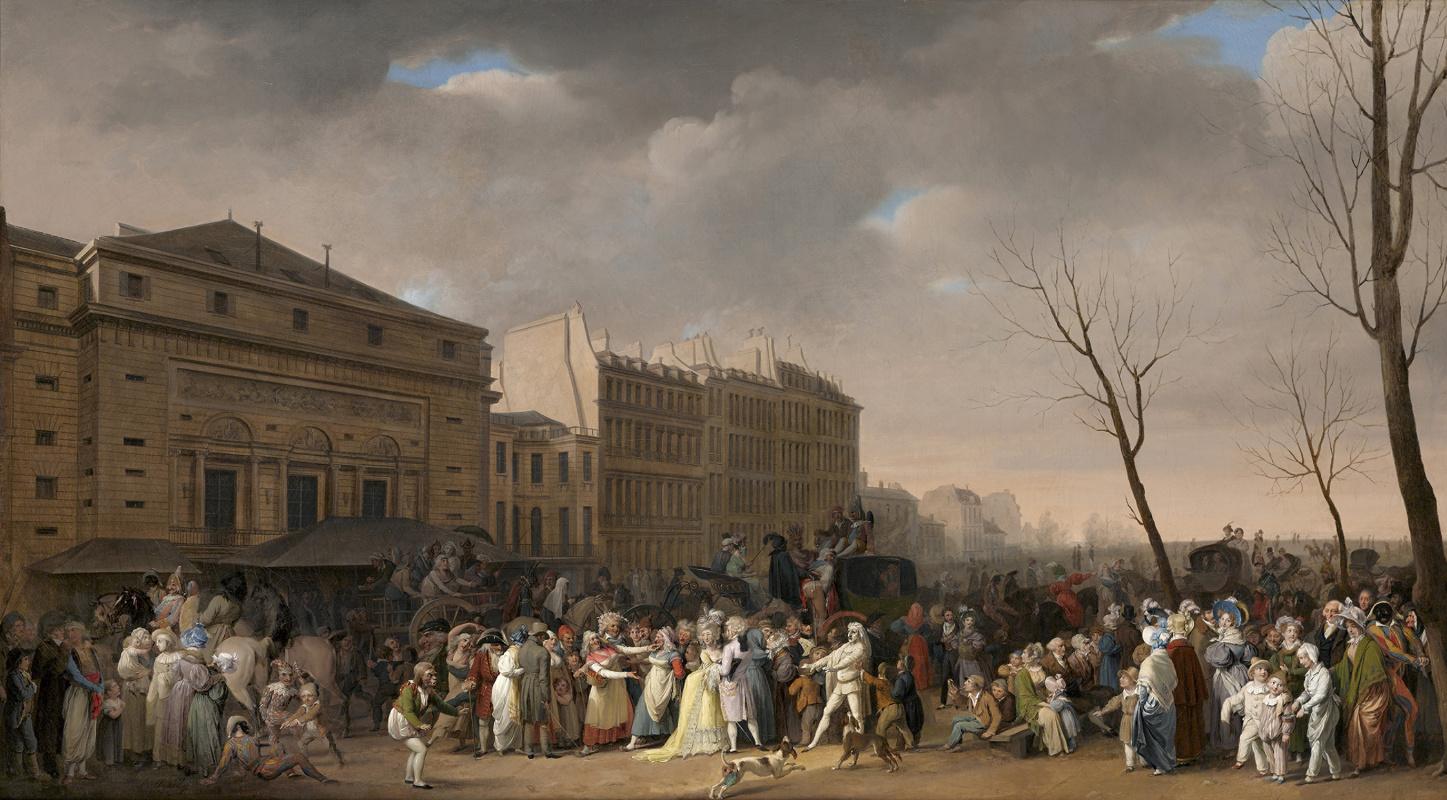 Louis-Leopold Boi. A Carnival Scene