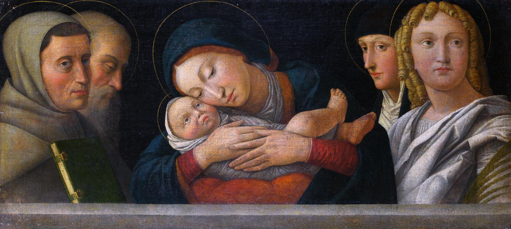 Бонсигнори Франческо. Дева с младенцем и четырьмя святыми