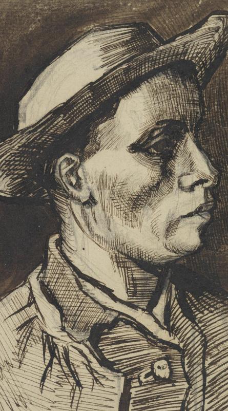 Винсент Ван Гог. Голова мужчины