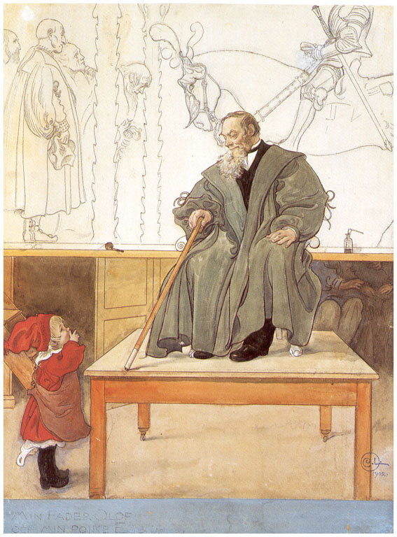 Carl Larsson. Grandfather