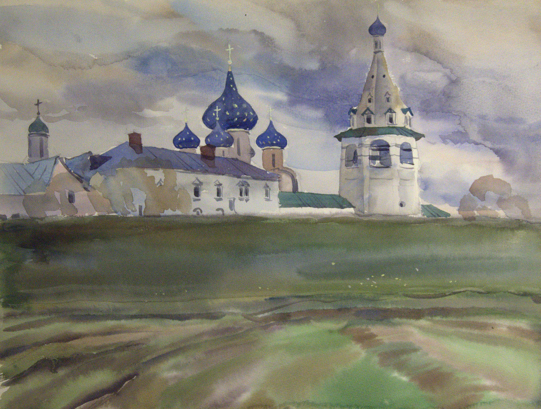 Oleg Borisovich Zakharov.  May in Suzdal