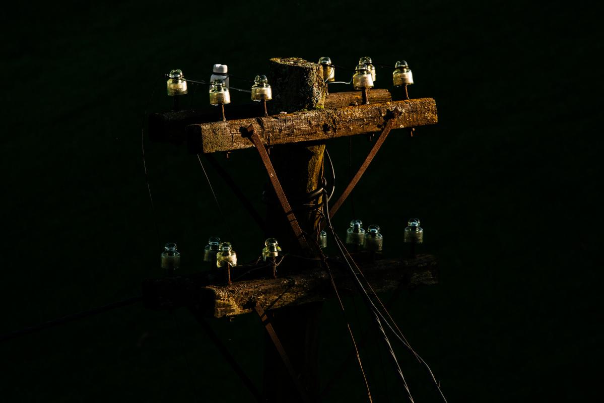 Daniil Dmitrievich Astakhov. Old lamp