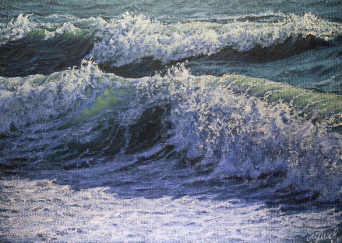 Valery Levchenko. No. 592 Seascape.