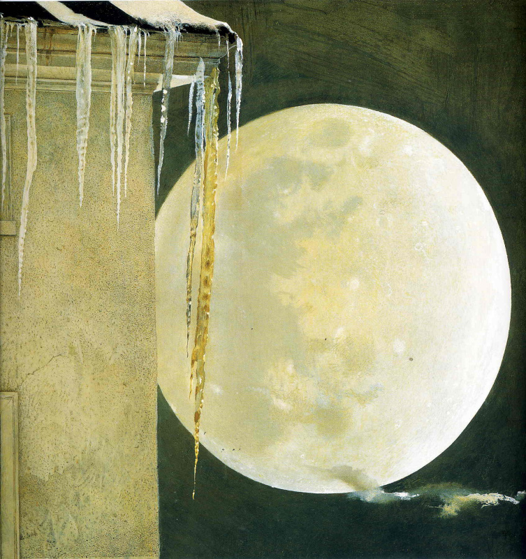 Andrew Wyeth. Moonlight madness