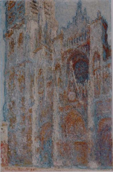 Клод Моне. Руанский собор в полдень (Портал и башня д'Албань)