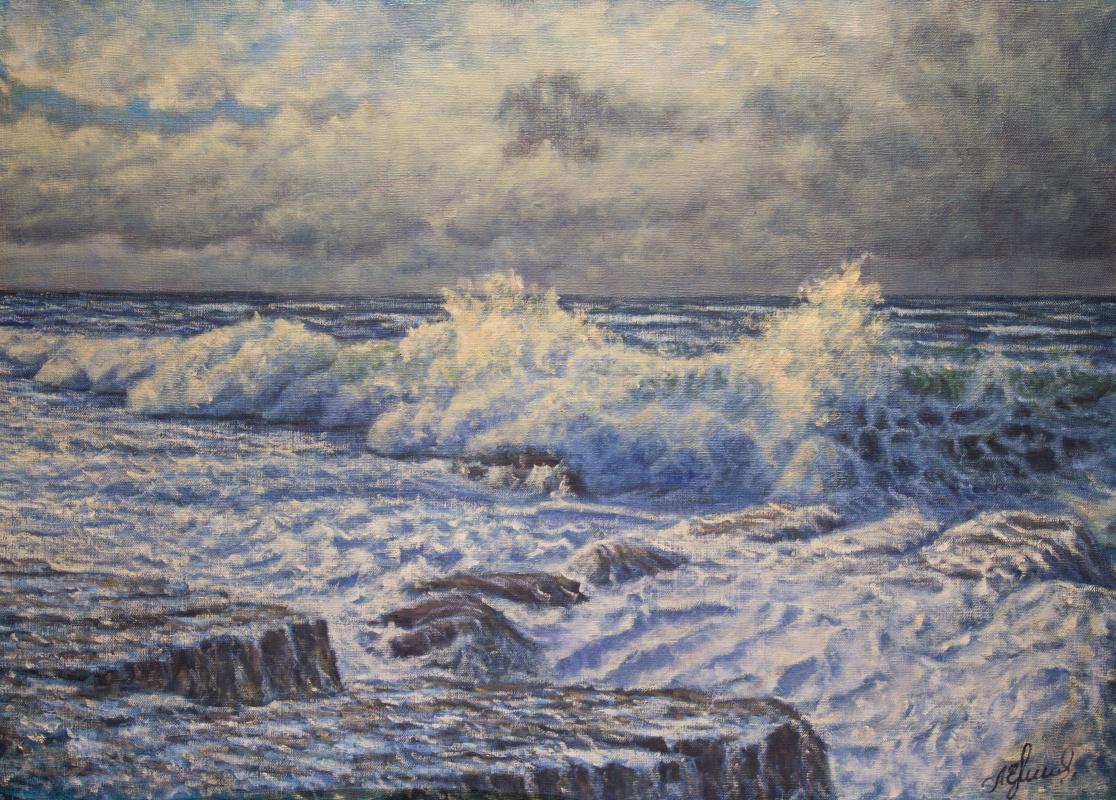 Valery Levchenko. No. 477 Seascape.