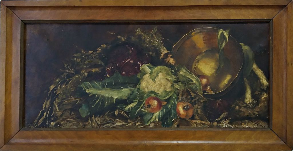 Berthold. Vegetable still life