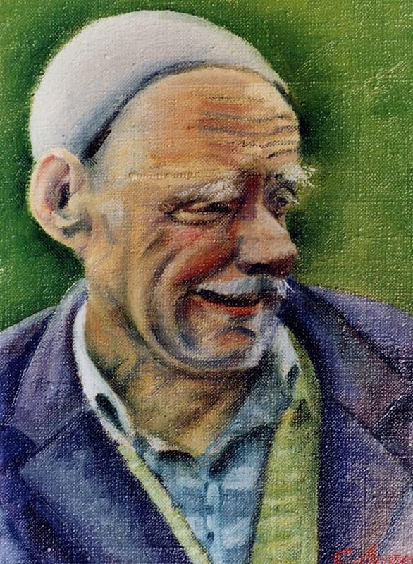 Боррего Руис. Портрет мужчины