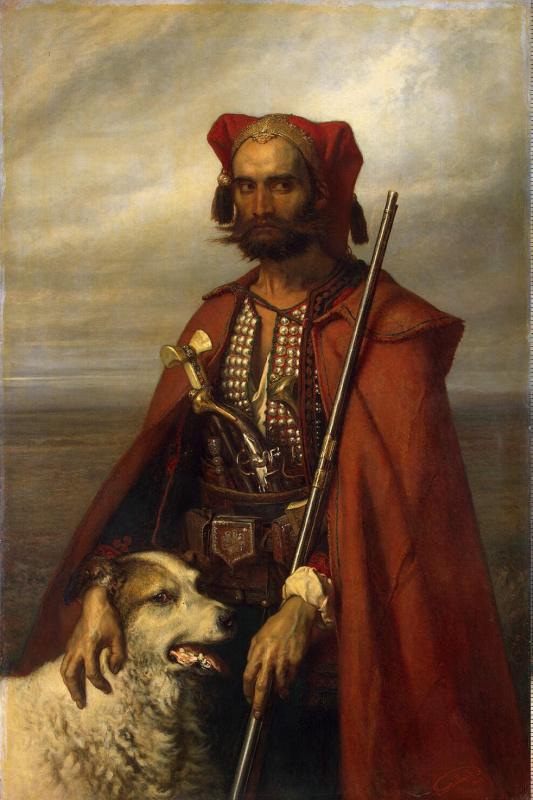 Луи Галле. Часовой-хорват
