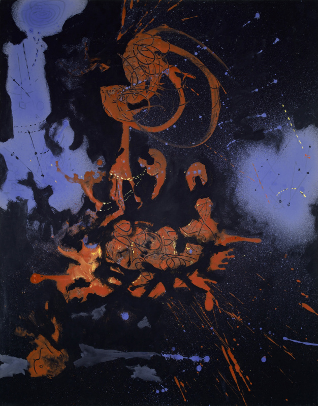 Jackson Pollock. Electric Night