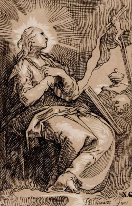 Abraham Bloomart. St. Mary Magdalene