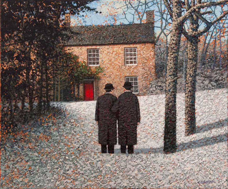 Марк Эдвардс. Two men and a red door