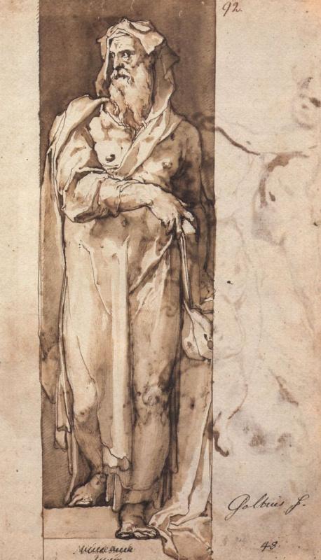 Taddeo Tsukkari. Standing prophet