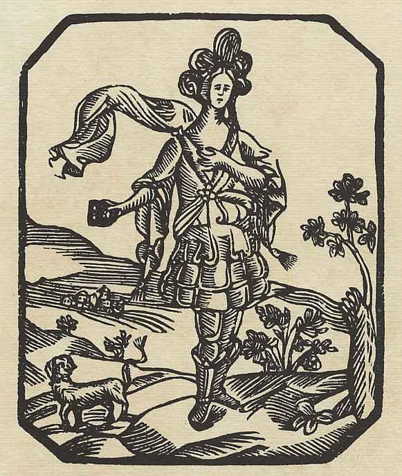 Ксилограф из печатни Эстивиль в Барселоне. Переодевание