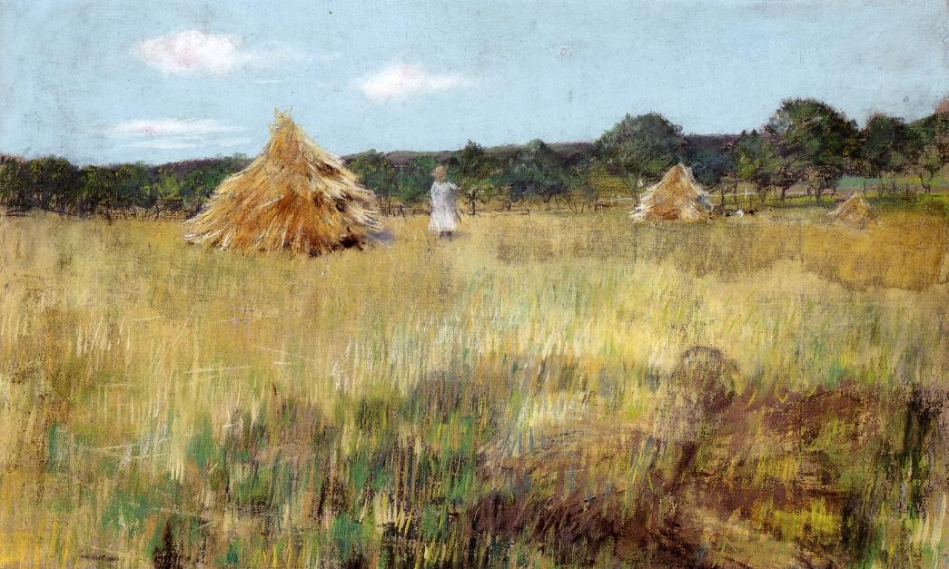 William Merritt Chase. Fields sown with grain. Shinnecock Hills