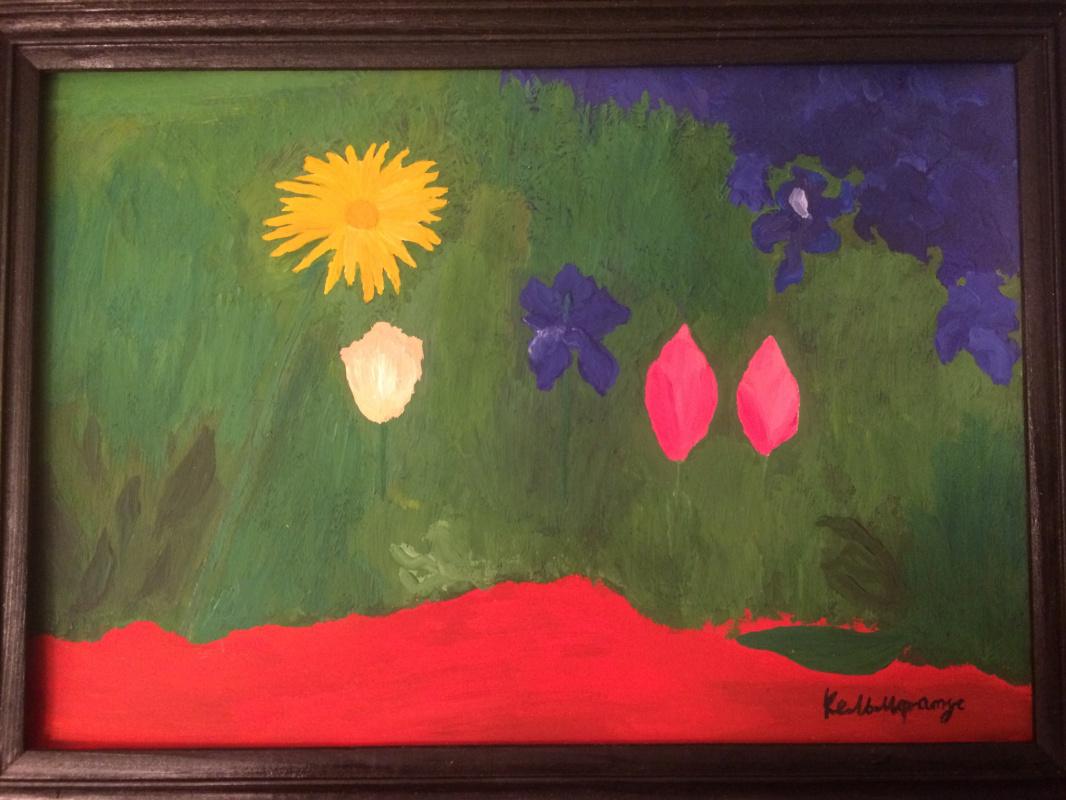Arne Kelmfatus. Two tulips