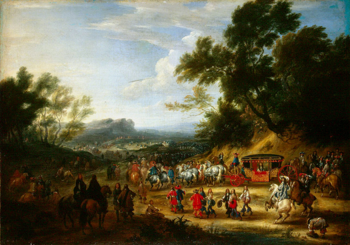 Ван Мейлен. Путешествие Людовика XIV