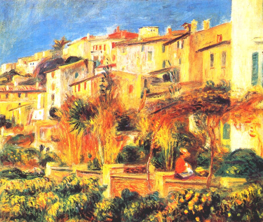 Pierre-Auguste Renoir. Terrace in Kan