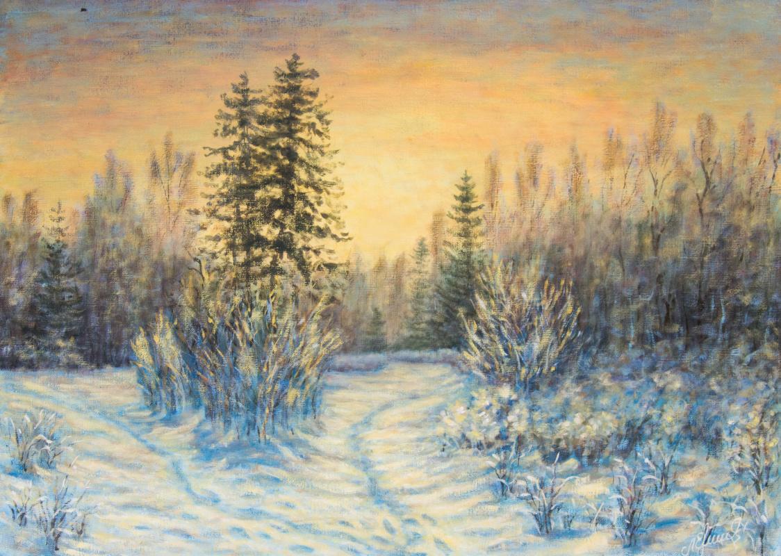 Valery Levchenko. No. 263 Frosty Morning