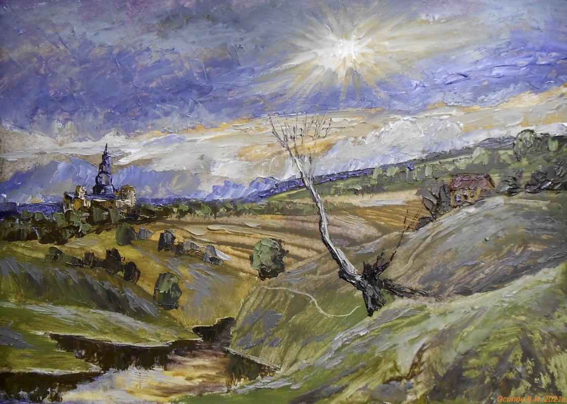 Владимир Иванович Осипов. Evening sun