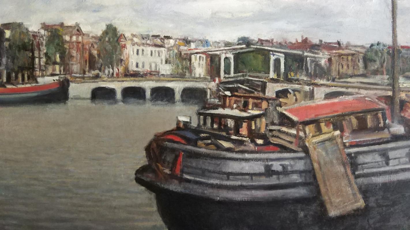 Edgardo Ribeiro. Amsterdam canals