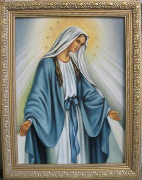 Ядвига Сенько. Дева Мария Непорочного зачатия (холст,масло)